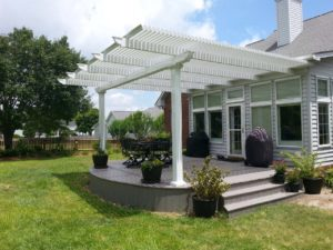 Attached Pergolas Rochester NY